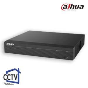 NVR, 8 Canales + 8 IP EZIP Dahua 1B08HSP